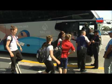 Čeští sportovci přiletěli do Baku