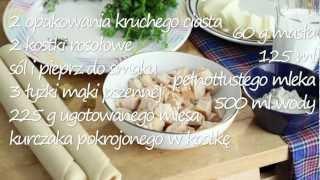 Przepis na chicken pie - zapiekanka z kurczakiem
