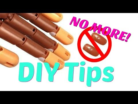 Never Use Replacement Tips AGAIN! on a Nail Trainer Hand (Tip #2) E070