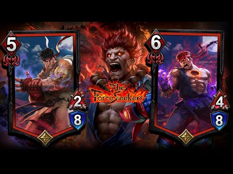 TEPPEN CARD REVEAL for The Force Seekers Expansion! Ryu and Evil Ryu! | #Sponsored