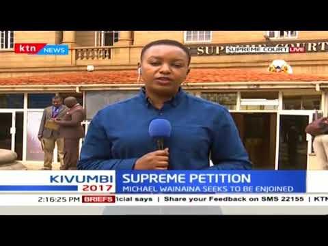 The clock fast ticking towards IEBC chairman and Uhuru deadline to file responses :: KTN News - The Standard