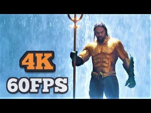 [4K/60FPS] Aquaman | Trailer #2 | 2018 | Jason Momoa Superhero Movie