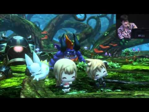 World of Final Fantasy – Jump Festa 2016 Stage Event Gameplay (Stream Recorded)