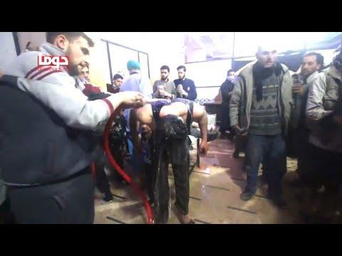 Luftangriff in Syrien nach mutmaßlicher Giftgas-Attac ...