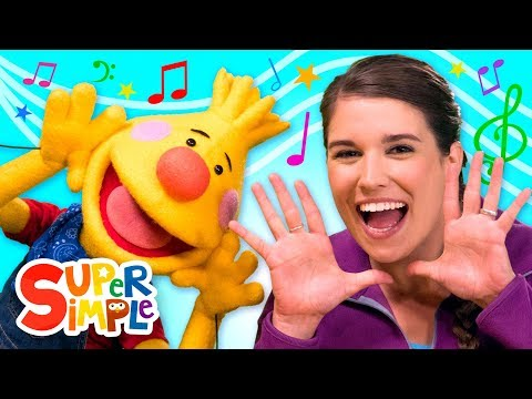 Kids' Song Collection #1 | Sing Along With Tobee | Super Simple Songs