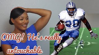 Video Clueless New football Fan Reacts to Barry Sanders - Untouchable NFL Running Back Highlights MP3, 3GP, MP4, WEBM, AVI, FLV September 2019