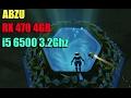 ABZÛ Benchmark 1440p Ultra (RX470, i5 6500)