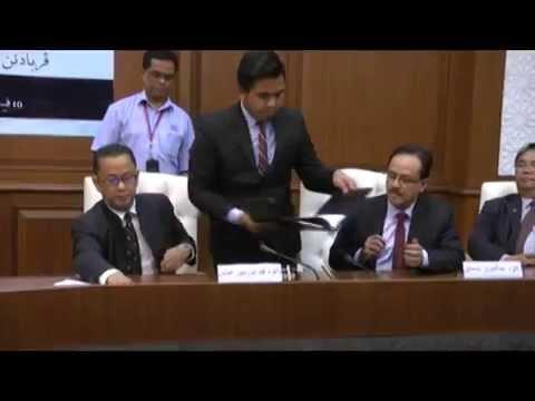 Majlis Menandatangani Perjanjian Penajaan Penerbitan Akhbar Jawi