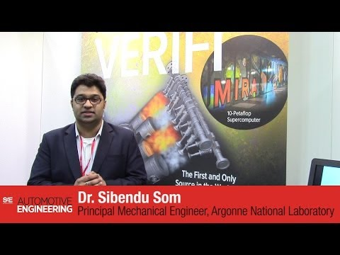 Argonne National Laboratory VERIFI engine combustion simulation announcement