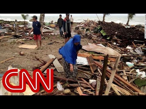 Hundreds Feared Dead After Tsunami Hits Indonesia