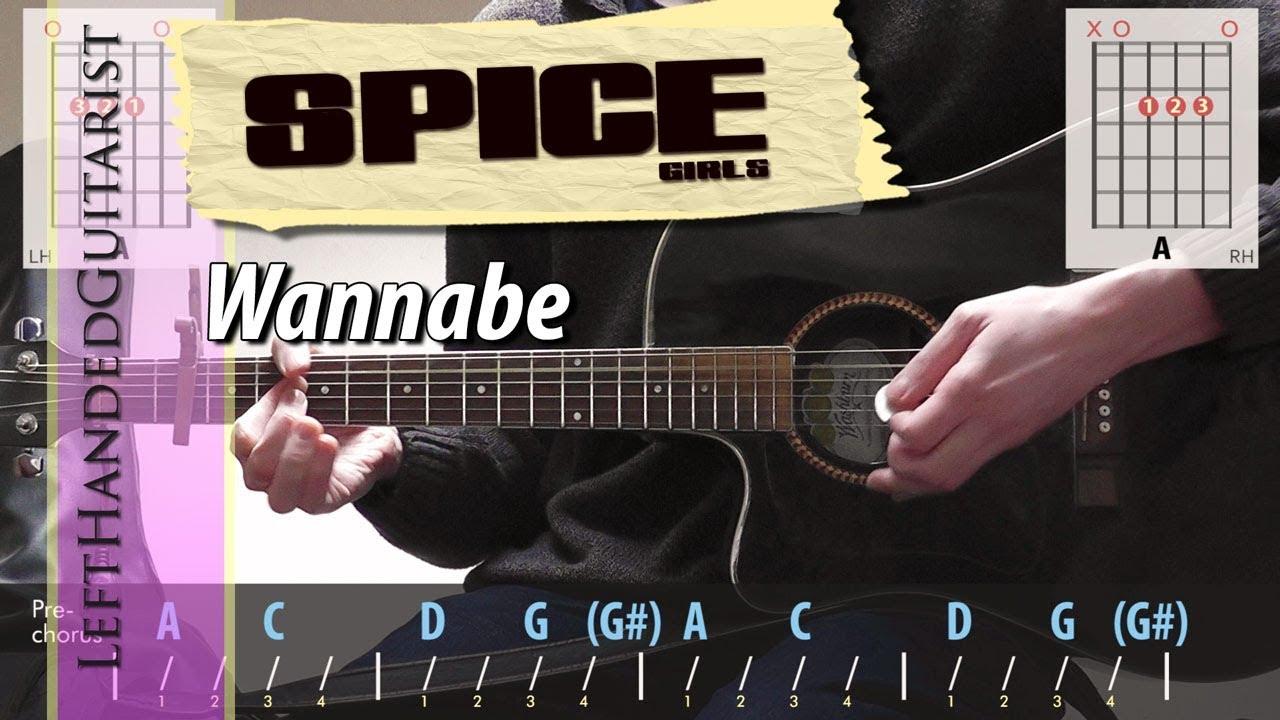 Spice Girls – Wannabe | guitar lesson