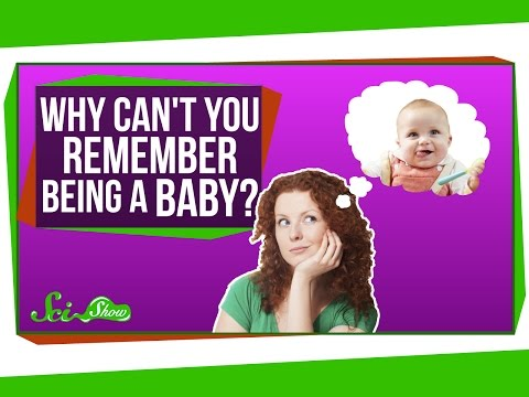 Why Can t You Remember Being a Baby