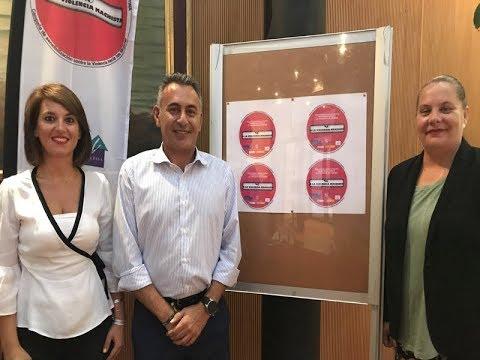Presentación Distintivo Campaña Sensibilización del Centro de Información a la Mujer