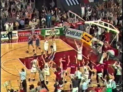 europameisterschaft - Basketball Europameisterschaft 1993, Finale in München: Deutschland schlägt Russland im Endspiel mit 71:70 und gewinnt völlig überraschend den Titel! Sorry f...