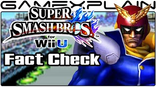 Smash Bros Fact Check: Captain Falcon Missing in F-Zero?