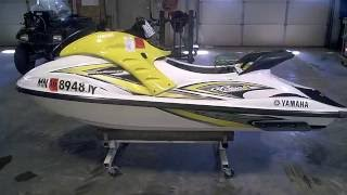 4. LOT 2567A 2005 Yamaha GP800R GPR 800 Tear Down Into Parts Jet Ski Salvage