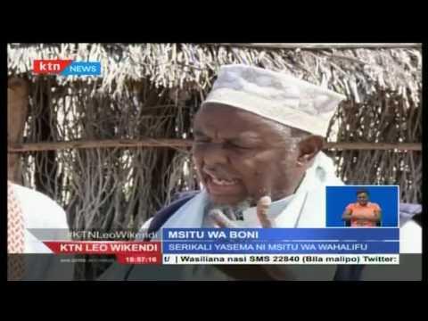 Tatizo kuhusu msitu wa Boni