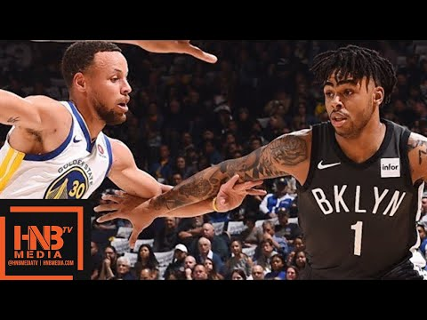 Golden State Warriors vs Brooklyn Nets Full Game Highlights / March 6 / 2017-18 NBA Season (видео)