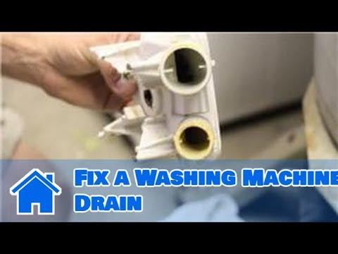 Washing Machine Repair : How to Fix a Washing Machine Drain