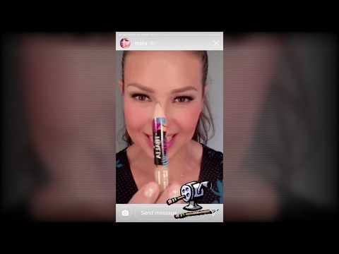 Thalía Stories - 07 Sept 2018 - Eylure Eyebrows And Lashes By Thalía (Makeup Tutorial)