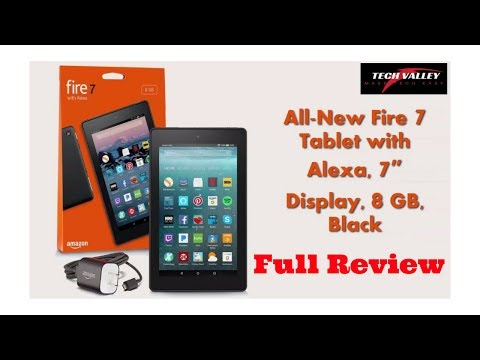 Amazon $49.99 All-New Fire 7 Tablet with Alexa, 7