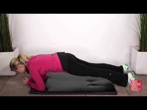 Fitness Tutorial: The most common front plank mistakes