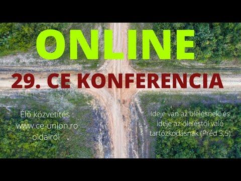 29. Országos CE Konferencia - ONLINE