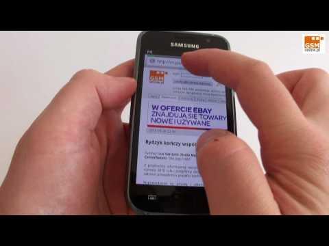 Samsung Galaxy S - hands on 1