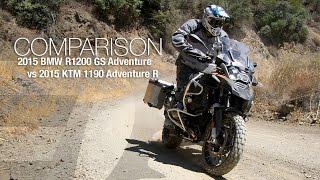 9. 2014 BMW R1200GS vs. KTM 1190 Adventure R Part 1 - MotoUSA