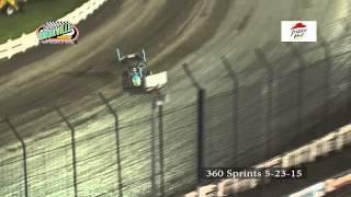 Knoxville Raceway 360Sprints 5-23-15