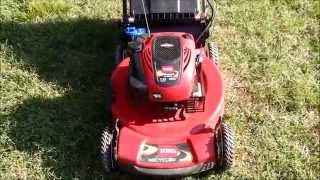 7. Toro Personal Pace Recycler Lawn Mower Model 20334 - It's Electric! Start Moving Sale - Oct. 2, 2015