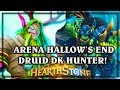 Arena Hallows End Druid Hunter ~ Knights of the Frozen Throne Expansion Hearthstone Heroes of Warcra