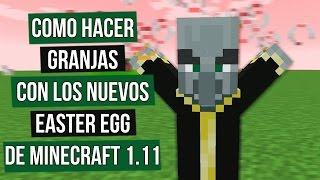 Minecraft 1.11 tiene  Easter Egg que podemos aprovechar para hacer o culminar nuestras granjas... aquí unas ideas... ┌ SUSCRIBETE PARA MAS ┐►►► CLIC AQUÍ: http://goo.gl/BEXQZh└──────────────────────────────┌ Redes Sociales ┐►Twitter: http://goo.gl/Lxcl8j►Facebook: http://goo.gl/tJwaZz└──────────────────────┌ Sígueme en Twitch ┐►Twitch: http:/http://goo.gl/ZjexJS└──────────────────────