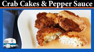 How to make Crab Cakes with Roasted Bell Pepper Sauce
