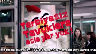 Popeyes Reklamı - Terbiyeli Panini Gusto Menü