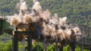 Scottsboro (AL) United States  city photo : Watch as ALDOT Blows up the B.B. Comer Bridge in Scottsboro, AL