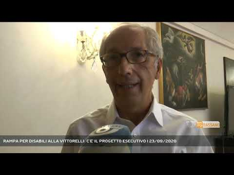 RAMPA PER DISABILI ALLA VITTORELLI: C'E' IL PROGETTO ESECUTIVO   23/09/2020