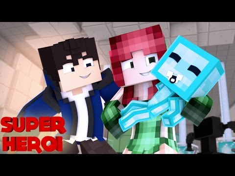 Minecraft : SUPER-HERÓI - HERA VIROU BABA DO ZORDON #59