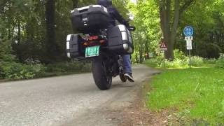 9. Pure sound : Yamaha XT 1200 Super Tenere, Akrapovic exhaust, with GoPro Hero3