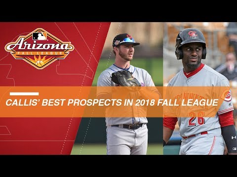 Video: Callis names his top Arizona Fall League prospects