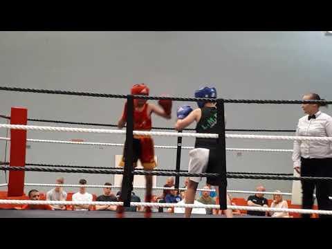 James Fury the Winner Epic Golden Gloves At Newark Magnus Academy