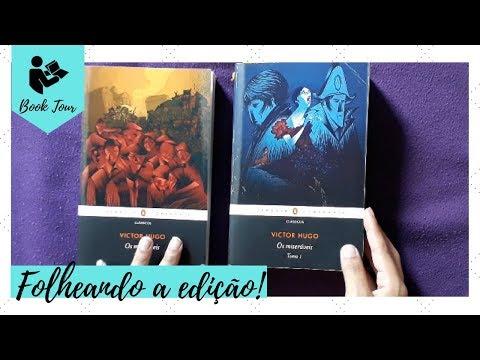 FOLHEANDO O LIVRO: OS MISERÁVEIS (EDIÇÃO PENGUIN - COMPANHIA) | Livraneios