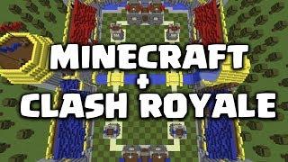 Video MAEN CLASH ROYALE DALAM MINECRAFT - Minecraft Map Showcase MP3, 3GP, MP4, WEBM, AVI, FLV Oktober 2017