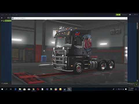 C.H Map (Chung Hwa map) add-on for ETS2 1.31