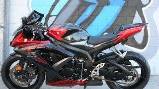 8. 2008 Suzuki GSXR 750 ...Only 1803 miles!