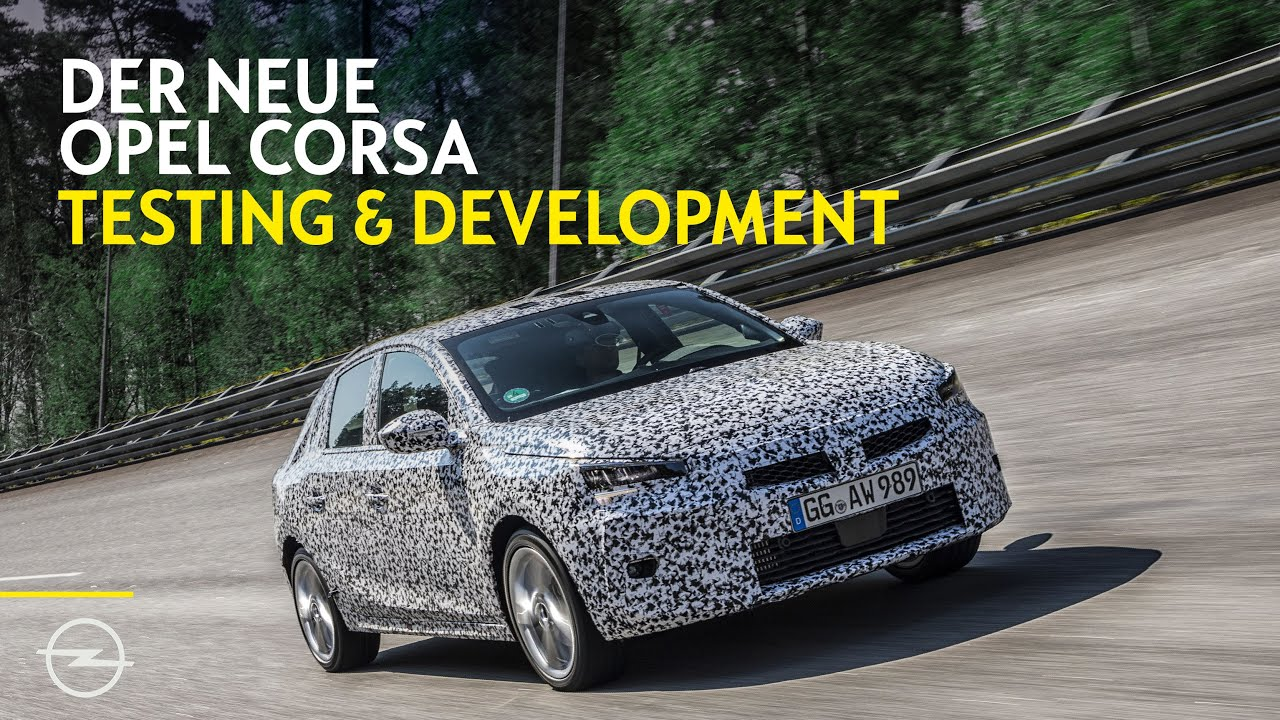 Chassis development: Next generation Opel Corsa gets ready