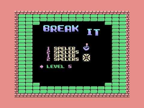 Break-It (1987, MSX, Martin van der Graaff)