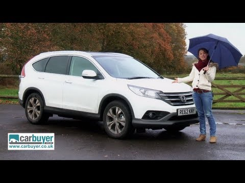 Honda CR V - Full review: http://www.carbuyer.co.uk/reviews/honda/cr_v/suv/review The Honda CR-V was one of the first SUVs to be introduced that prioritised driving on th...