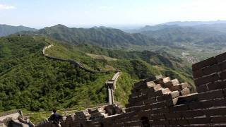 On top of the Great Wall 长城