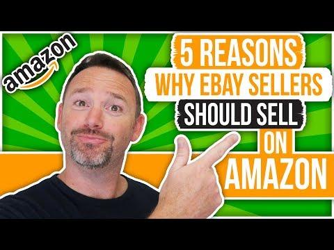 Whys eBay Sellers Should Sell On Amazon - Amazon Vs eBay